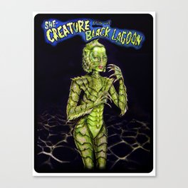 She Creature Canvas Print