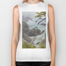 Glaciers Biker Tank