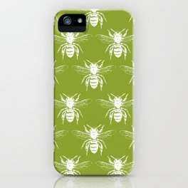 The Bee's Knees Green iPhone Case