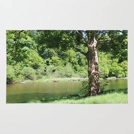 River Tweed Scotland Rug