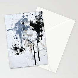 Dripping Paint Splash Stationery Cards