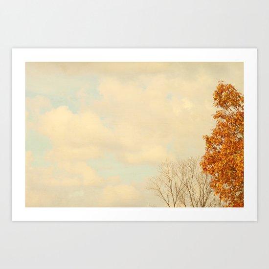 October Day's Art Print