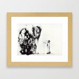 Disconnect Framed Art Print