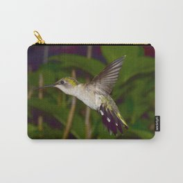 Flying hummingbird 55 Carry-All Pouch
