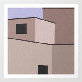 The Desert House Art Print
