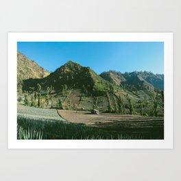 BROMO LANDSCAPE Art Print