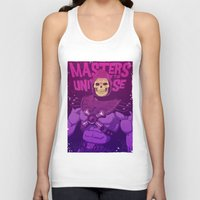 skeletor Tank Tops featuring Masters of the Universe - Skeletor by Mike Wrobel