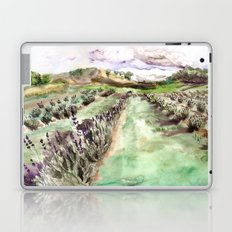 Purple up over the hills Laptop & iPad Skin