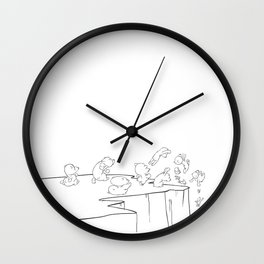 Lemming Marathon Wall Clock