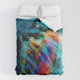 Junkanoo Conch Blue Comforters