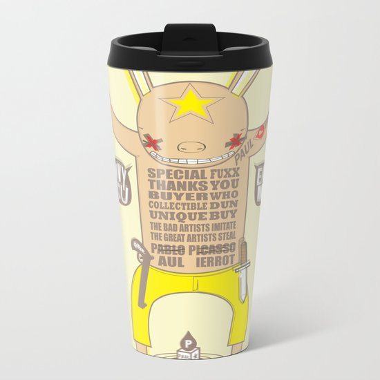 ENVY YOU ENVY ME ! Metal Travel Mug
