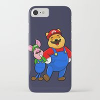 pooh iPhone & iPod Cases featuring bear pooh by NORI