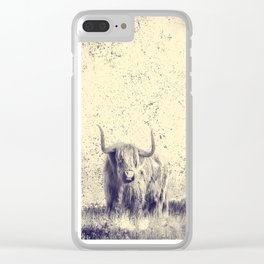 Majestic Buffalo Clear iPhone Case
