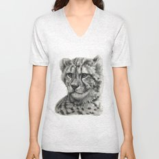 Young Guepard g094 Unisex V-Neck