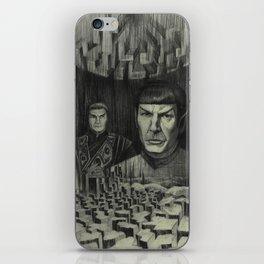 Broken Planet iPhone Skin