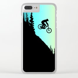 MTB Colors Clear iPhone Case