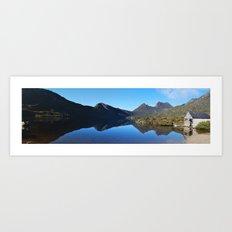 Cradle Mountain Lake Panoramic Art Print