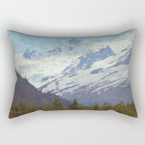 Distressed Rectangular Pillow