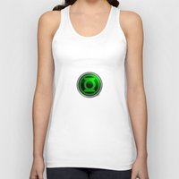 green lantern Tank Tops featuring Green Lantern by Thorin