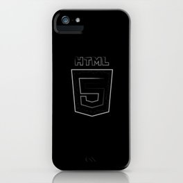 HTML 5 iPhone Case