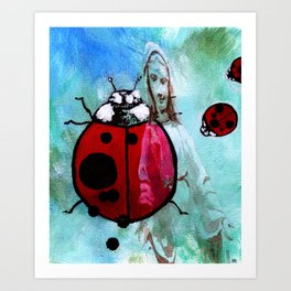 The Bug of Our Lady Art Print