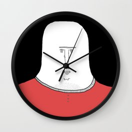 ugly people Wall Clock