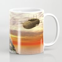 relax Mugs featuring Relax by Susann Mielke