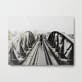 'If Steel Could Talk' Metal Print