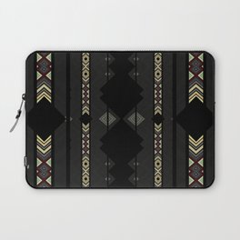 Southwestern Black Diamond Stripe Patterns Laptop Sleeve
