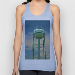 Tower And Clouds Unisex Tank Top