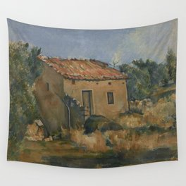 Abandoned House near Aix-en-Provence Wall Tapestry