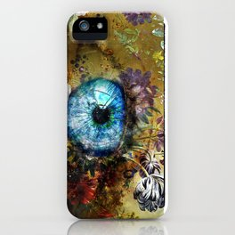 Beauty is in the eye of the beholder iPhone Case