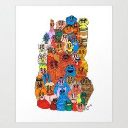 moppets Art Print