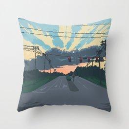 Stoplights Throw Pillow