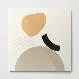 // Shape study #24 Metal Print