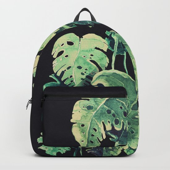 tropical in the dark Backpack