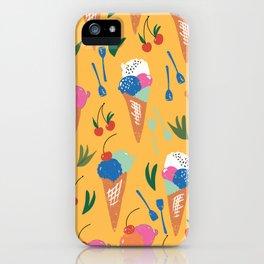 Gelati Dream // Pattern Design // Summer collection iPhone Case