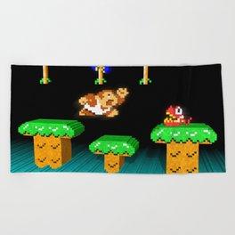 Inside Donkey Kong Junior Beach Towel