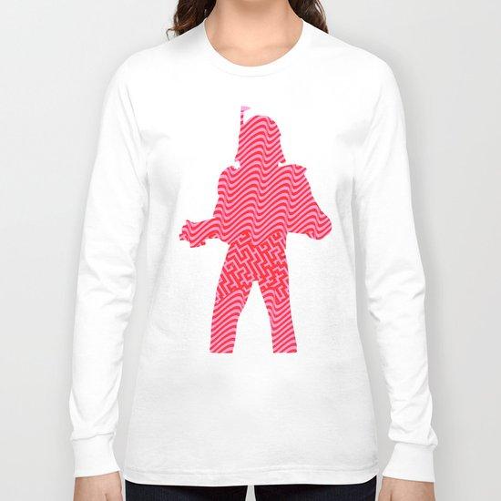 Cut StarWars - Pink Streifenhörnchen Long Sleeve T-shirt