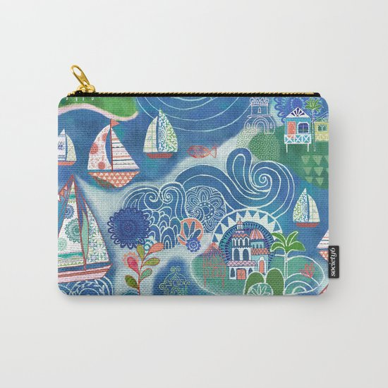 Dream Boats Carry-All Pouch