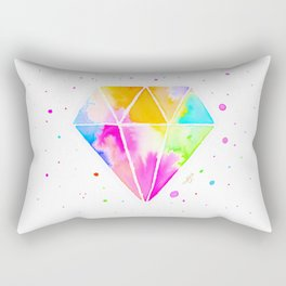 Galaxy Diamond Rectangular Pillow