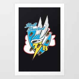 SHELL SHOCK Art Print