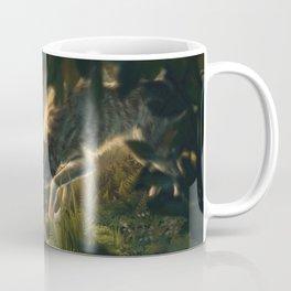 Want a Nut? (Wolf and Squirrel) Coffee Mug