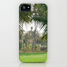 Exotic Palm Trees iPhone Case