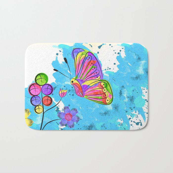 Season of Colors Bath Mat
