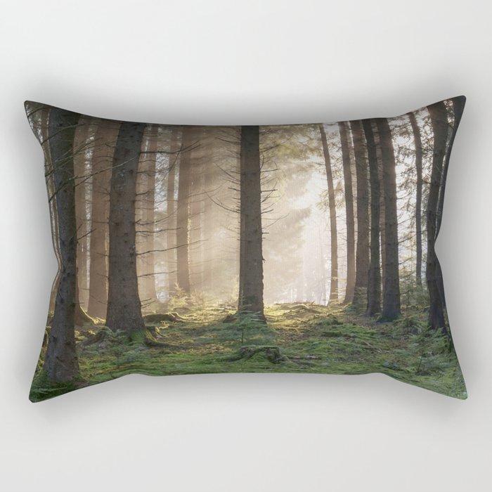 Winter Sunbeams Rectangular Pillow