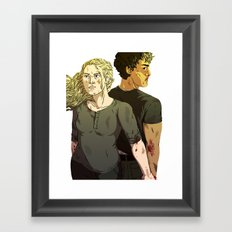 knocking on heaven's door Framed Art Print
