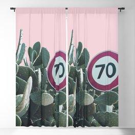 Cactus Route Blackout Curtain