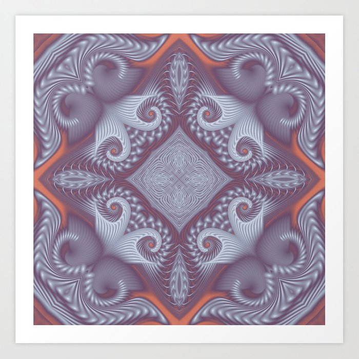 Lavender Star Kunstdrucke