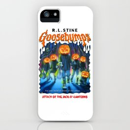 Goosebumps Attack of the Jack O'Lanterns iPhone Case
